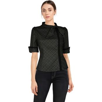 Vêtements Femme T-shirts & Polos Chic Star 82627 Grey / Plaid