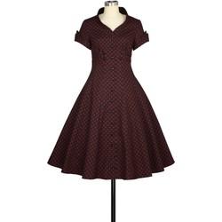 Vêtements Femme Robes Chic Star 824A4 Rouge / Noir