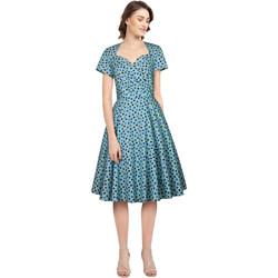 Vêtements Femme Robes Chic Star 820A3 Bleu / Points