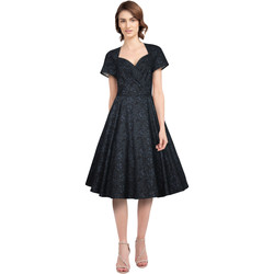 Vêtements Femme Robes Chic Star 820A0 Noir / Floral