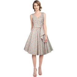 Vêtements Femme Robes Chic Star 707A4 Rose / Points