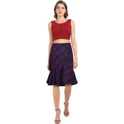 Vêtements Femme Jupes Chic Star 819J2 Violet / Plaid