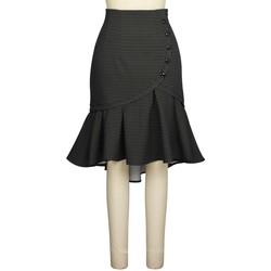 Vêtements Femme Jupes Chic Star 819D7 Gris / Net