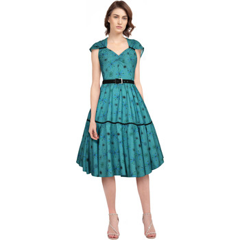 Vêtements Femme Robes Chic Star 816F5 Vert / Neige