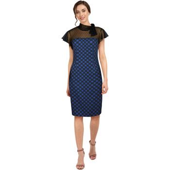 Vêtements Femme Robes Chic Star 817A3 Bleu / Noir