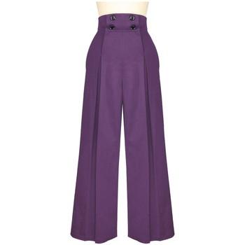 Vêtements Femme Pantalons Chic Star 75082 Violet