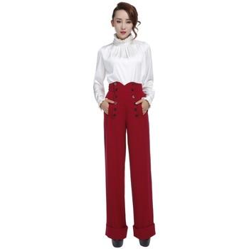 Vêtements Femme Pantalons Chic Star 61394 Rouge