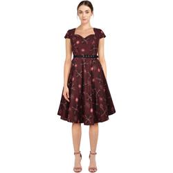 Vêtements Femme Robes Chic Star 801A4 Rouge / Imprimé