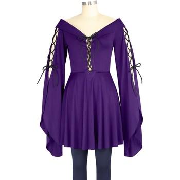 Vêtements Femme T-shirts manches longues Chic Star 79862 Violet