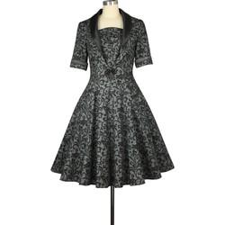 Vêtements Femme Robes Chic Star 771M7 Gris / Noir