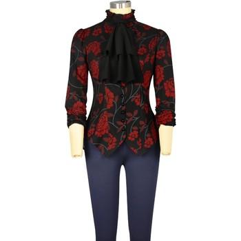 Vêtements Femme Chemises / Chemisiers Chic Star 705G0 Noir / Floral