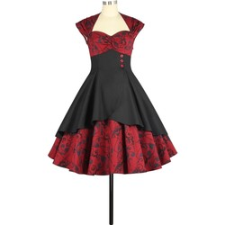 Vêtements Femme Robes Chic Star 795M4 Red Floral