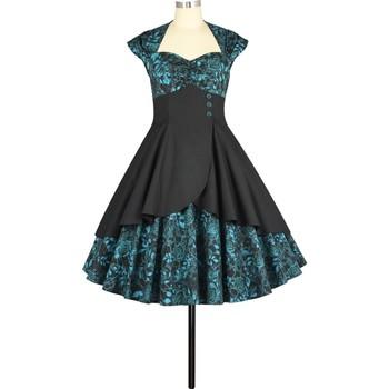 Vêtements Femme Robes Chic Star 795M3 Blue Floral