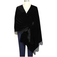 Accessoires textile Femme Echarpes / Etoles / Foulards Chic Star 79060 Noir