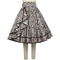 Vêtements Femme Jupes Chic Star 784Q6 Blanc / Imprimé