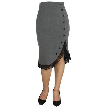Vêtements Femme Jupes Chic Star 50627 Gris