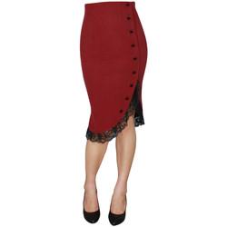 Vêtements Femme Jupes Chic Star 60624 Rouge