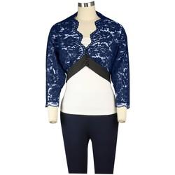 Vêtements Femme Vestes / Blazers Chic Star 78363 Navy / Black