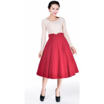 Vêtements Femme Jupes Chic Star 51374 Rouge