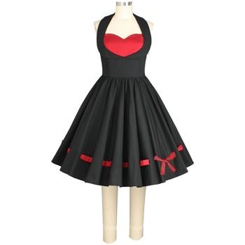 Vêtements Femme Robes Chic Star 77304 Noir / Rouge