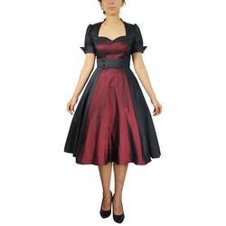 Vêtements Femme Robes Chic Star 50500 Noir / Bordeaux