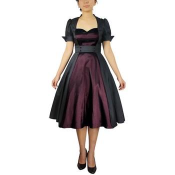 Vêtements Femme Robes Chic Star 50502 Noir / Violet