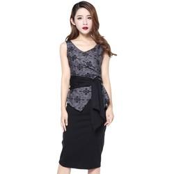 Vêtements Femme Débardeurs / T-shirts sans manche Chic Star 707T7 Gris