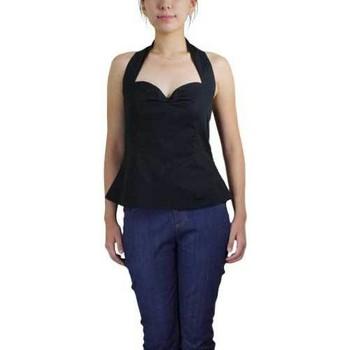 Vêtements Femme Chemises / Chemisiers Chic Star 41180 Noir