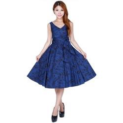 Vêtements Femme Robes Chic Star 707M3 Bleu