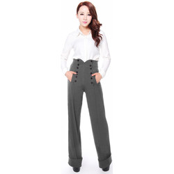 Vêtements Femme Pantalons Chic Star 61397 Gris