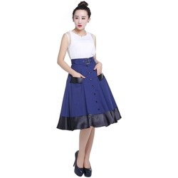 Vêtements Femme Jupes Chic Star 70033 Marine