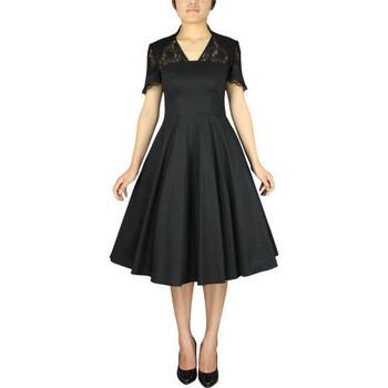 Vêtements Femme Robes Chic Star 50780 Noir