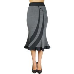 Vêtements Femme Jupes Chic Star 50497 Gris