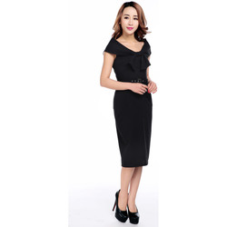 Vêtements Femme Robes Chic Star 61030 Noir