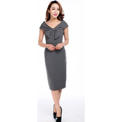 Vêtements Femme Robes Chic Star 61037 Gris