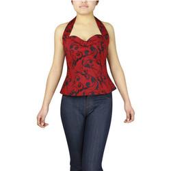 Vêtements Femme Débardeurs / T-shirts sans manche Chic Star 60954 Rouge