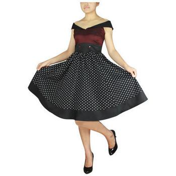 Vêtements Femme Robes Chic Star 50651 Bordeaux / Noir