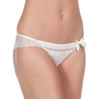 Sous-vêtements Femme Culottes & slips Selene Culottes Carla B Pack 2 Blanc