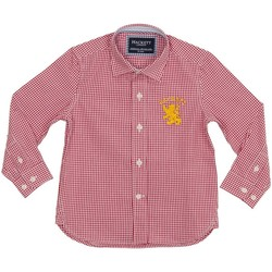 Vêtements Garçon Chemises manches longues Hackett T-shirt Hackett Rouge