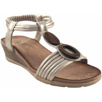 Chaussures Femme Sandales et Nu-pieds Deity Dame  DÉITÉ 17362 YBZ de platine Doré