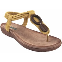 Chaussures Femme Tongs Amarpies Lady   17063 ABZ moutarde Jaune