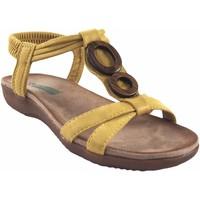 Chaussures Femme Sandales et Nu-pieds Amarpies Lady   17064 ABZ moutarde Jaune