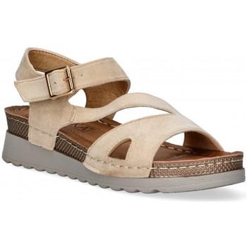 Chaussures Femme Sandales et Nu-pieds Etika 52655 Marron