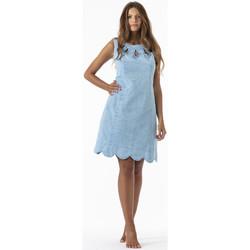Vêtements Femme Robes courtes La Cotonniere ROBE GINA Bleu