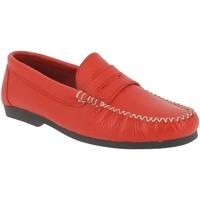 Chaussures Femme Mocassins Xavier Danaud 97128 Rouge