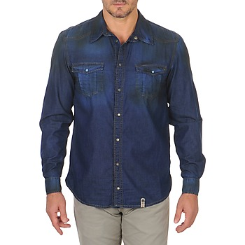 Chemises Freeman T.Porter CORWEND DENIM Bleu 350x350