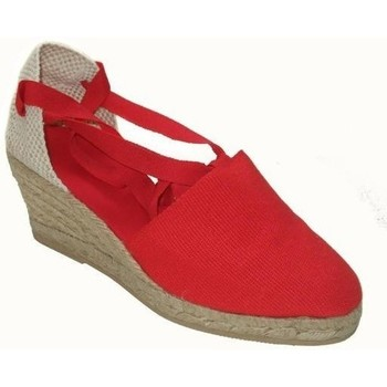 Chaussures Femme Espadrilles Annora Zapatos  Rouge