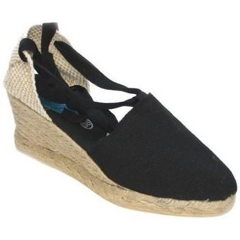 Chaussures Femme Espadrilles Cbp - Conbuenpie  Noir