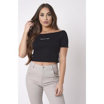 Vêtements Femme Veuillez choisir un pays à partir de la liste déroulante Project X Paris Tee Shirt Noir