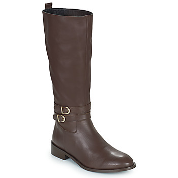 Chaussures Femme Bottes ville JB Martin AMUSEE Marron